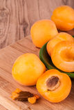 Apricots Royalty Free Stock Photography