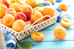 Apricots fruit Stock Photography