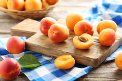 Apricots fruit Royalty Free Stock Images