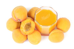 Apricots juice. Stock Image