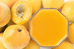 Apricots juice Royalty Free Stock Photography