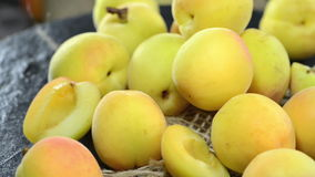 Apricots (loopable) Royalty Free Stock Photos