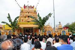 Apriete en la ceremonia de inauguración india del templo Foto de archivo libre de regalías