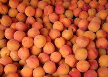 Aprikosen für Verkauf Lizenzfreie Stockbilder