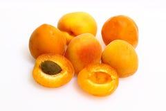 Aprikosen, Frucht, Vegetarier lizenzfreie stockbilder