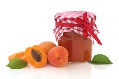 Aprikosen-Marmelade lizenzfreie stockfotografie