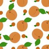 Aprikosenblatthintergrund Stockfotografie