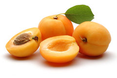Aprikosenfrüchte Lizenzfreie Stockfotografie
