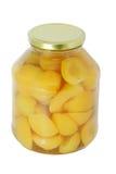Aprikosenkompott lizenzfreies stockfoto
