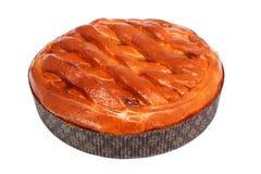 Aprikosenkuchen Lizenzfreies Stockfoto