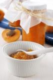 Aprikosenmarmelade Lizenzfreies Stockbild