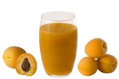 Aprikosensaft Stockfotos