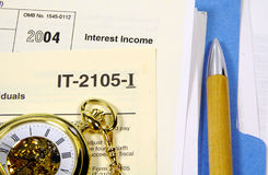 April 15th. Tax Related Items.  Tax Time Concept - See Portfolio For Similar Concepts Royalty Free Stock Images