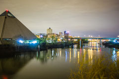 Free April 2015 - Panoramic View Of The Pyramid Sports Arena In Memph Stock Images - 53093054