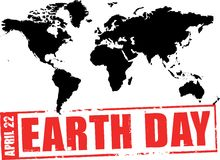 April 22 - earth day Royalty Free Stock Photography