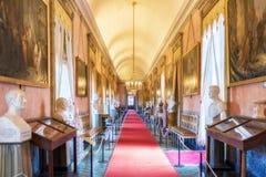 Castello Ducale di Agliè was the royal house of the Savoy. 22 April 2018 - Agliè, Turin, Italy: Castello Ducale di Agliè was the royal house of the Savoy Royalty Free Stock Photo