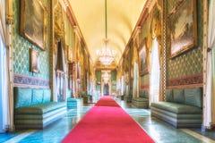 Castello Ducale di Agliè was the royal house of the Savoy. 22 April 2018 - Agliè, Turin, Italy: Castello Ducale di Agliè was the royal house of the Savoy Stock Images
