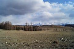 April in Altai  Royalty-vrije Stock Afbeelding