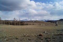 April in Altai  Royalty-vrije Stock Fotografie