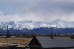 April in Altai  Royalty-vrije Stock Foto's