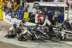 IndyCar: April 07 Desert Diamond West Valley Casino Phoenix Grand Prix. April 07, 2018 - Avondale, Arizona, USA: Ed Carpenter 20 brings his car down pit road for royalty free stock images