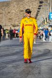 IndyCar: April 06 Desert Diamond West Valley Casino Phoenix Gran. April 06, 2018 - Avondale, Arizona, USA: Ryan Hunter-Reay 28 prepares to qualify for the Desert stock images