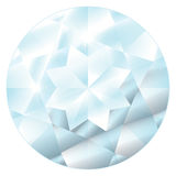 April Birthstone - Diamond. A stylized and abstract illustration of the stone Diamond, April's birthstone. EPS file compatible with Adobe Illustrator 9 and up Stock Photo