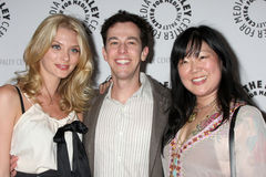 April Bowlby,Margaret Cho,Josh Berman,The Dead Royalty Free Stock Photography
