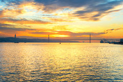 25 April Bridge Lisboa, Portugal Imágenes de archivo libres de regalías