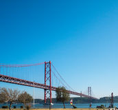 25th April bridge Stock Photography