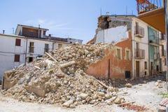April 25, 2017, Camposto, landskap av L ` Aquila, Abruzzo, Italien Arkivfoton