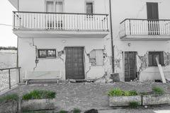 April 25, 2017, Camposto, landskap av L ` Aquila, Abruzzo, Italien Royaltyfria Bilder