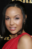April Clark. Attends the World Premiere of `Stomp The Yard` held at the Cinerama Dome in Hollywood, California on January 8, 2007 Royalty Free Stock Image