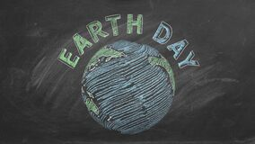 22 April. Concept of Earth day