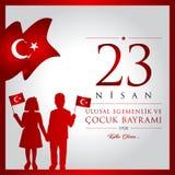 April 23, dag för nationell suveränitet- och barn` s Arkivfoton