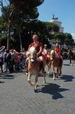 21 april, 2014, de Verjaardag van Rome Stock Afbeeldingen