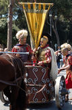 21 april, 2014, de Verjaardag van Rome Stock Fotografie