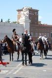 21 april, 2014, de Verjaardag van Rome Stock Foto's