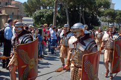 21 april, 2014, de Verjaardag van Rome Royalty-vrije Stock Foto