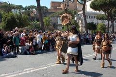 21 april, 2014, de Verjaardag van Rome Stock Foto