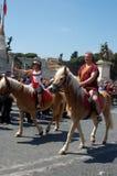 21. April 2014 der Geburtstag von Rom Lizenzfreies Stockbild