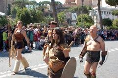 21. April 2014 der Geburtstag von Rom Stockfoto