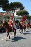 21. April 2014 der Geburtstag von Rom Stockfotos