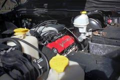 Kiev, Ukraine; April 10, 2015. Dodge Ram SRT-10. April 10, 2015. Dodge Ram SRT-10. Car details royalty free stock image