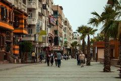 April 2018, Egypt, Hurghada. Sherry Street in Hurghada. royalty free stock image