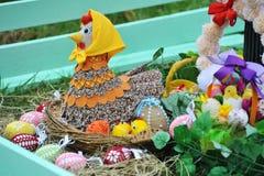 April 06, 2017 Exhibition  Easter eggs in Uzhgorod in Ukraine Stock Photography