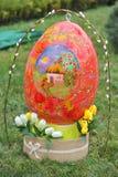 April 06, 2017 Exhibition  Easter eggs in Uzhgorod in Ukraine Stock Photo