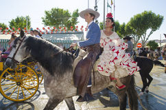 Free April Fair In Seville Royalty Free Stock Photo - 40512315