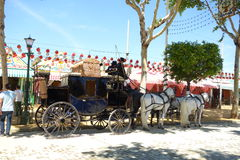 The April fair of Seville Royalty Free Stock Image
