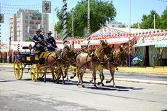 The April fair of Seville Stock Images